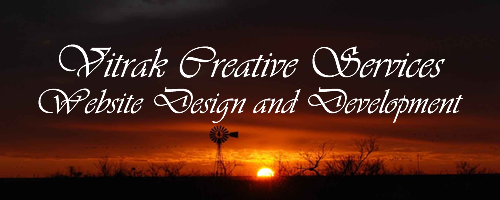 Vitrak Creative Services, Website Design and Development